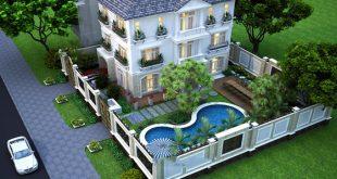 Thiết Kế Biệt Thự Có Sân Vườn Gần Gũi Với Thiên Nhiên